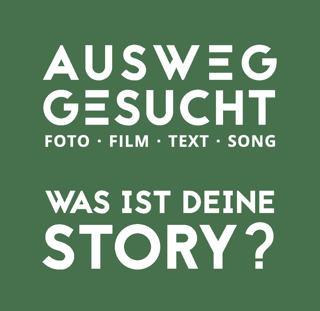 Ausweg Gesucht Kreativwettbewerb - Fotowettbewerb • Filmwettbewerb • Text • Songwettbewerb